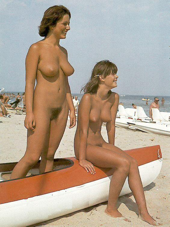 Nudist mother daughter