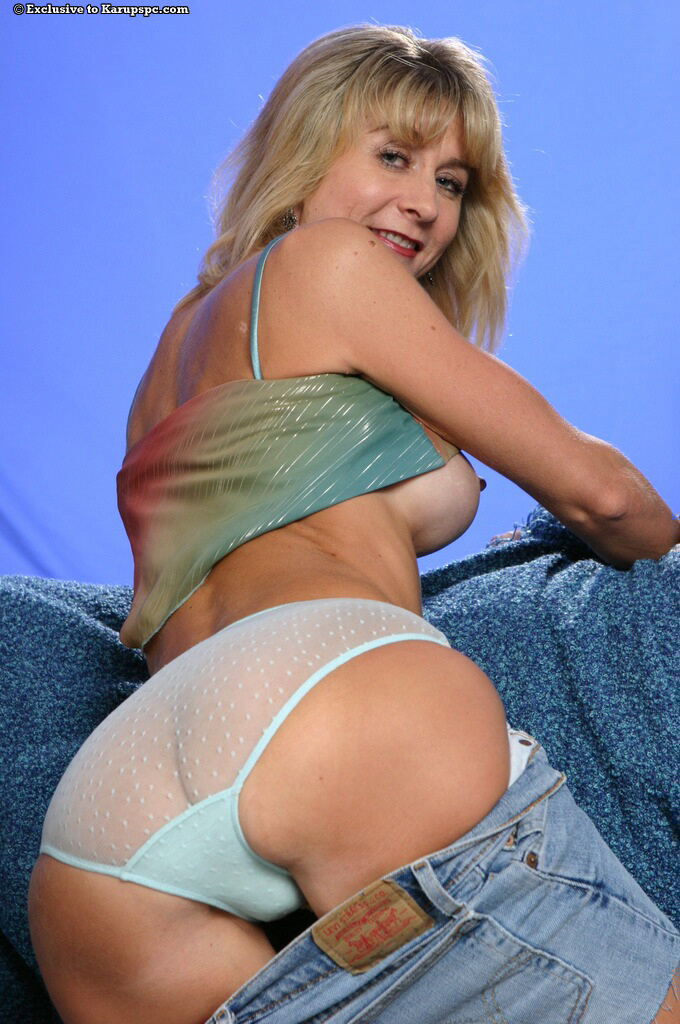 Milf See Through Panties